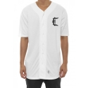 크룩스앤캐슬(CROOKS & CASTLES) Mens Knit Baseball Jersey - Stadium C