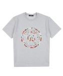 Floral 05 T-shirt(GRAY)