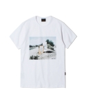 유니폼브릿지 the range photo tee white