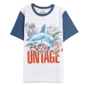 언티지() UTT 21 hawaiian shark t-shirts_white(남여공용)