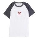 언티지 UTT 23 untage heart ranglan t-shirts_navy(남여공용)