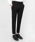 MASTER FIT 10CUT SLACKS BLACK