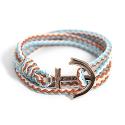 Anchor Bracelet And Necklace (BZ12)