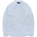 M#0573 cotton pullover shirt (stripe)