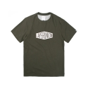 레이어 유니온(LAYER UNION) BOX LOGO S/S TEE KHAKI