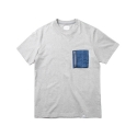 레이어 유니온(LAYER UNION) MA-1 POCKET S/S TEE GREY