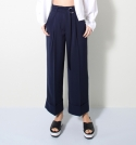 모한(MOHAN) [MOHAN] WIDE CUFFS PANTS NAVY 모한