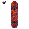 다크스타(DARKSTAR) [DARKSTAR] CAMO X FP V.2 X ORANGE/PURPLE X COMPLETE MINI 7.0 (미니사이즈)
