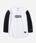 15 S/S 3/4 1924 B.B T-SHIRTS IVORY/BLACK