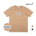 [리오그램] REOGRAM - REO LOW LINE BOX LOGO T SHIRTS (Beige)