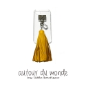 오뜨르 뒤 몽드(AUTOUR DU MONDE) LEATHER LONG TASSEL CASES