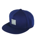 바잘() reflecting lavel neoprene snapback navy