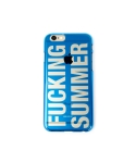 Cellphone cover fucking summer clear (iPhone 6) blue