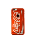 Cellphone cover Coca-Cola logo parody clear (iPhone 6) red