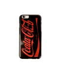 Cellphone cover Coca-Cola logo parody clear (iPhone 6) black