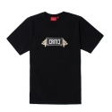 BOX FLOWER TEE (BLACK)
