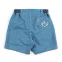 언티지 UTP 84 banding bermuda shorts_blue