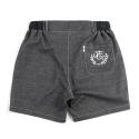 언티지 UTP 85 banding bermuda shorts_black