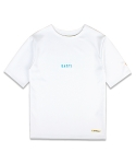 마치위드(MARCHWITH) OVERSIZED ROUND TEE OFF WHITE