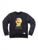 Grandpa In The Keyhole Sweat Shirt Navy