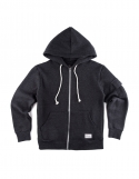 Non Napping Hooded Sweat Zip-Up Shirt Charcoal