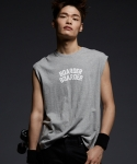 에픽소드(EPICSODE) BOARDER BOARDER SLEEVELESS-T(GREY)