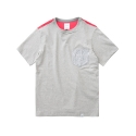 MESH POCKET S/S TEE GREY