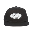 FRISCO 6 panel CAP BLACK