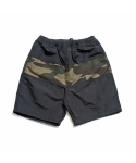 제로 Camo Block Beach Shorts