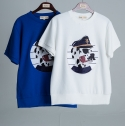 COMMANDER PATCH DOG 1/2 T-SHIRTS