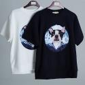 비욘드클로젯 SAILOR PATCH DOG 1/2 T-SHIRTS
