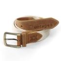 언티지 UTM 201 comb webbing belt_beige