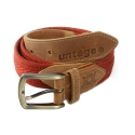 언티지 UTM 203 comb webbing belt_red