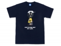 매드사우스(MADSOUTH) Dirtybrown T-shirts NAVY