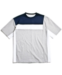 레이지 COLOR LINE T-SHIRTS GREY
