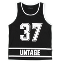 언티지() UNT 07 thirty seven mash sleeveless_black(남여공용)