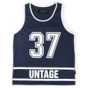언티지 UNT 08 thirty seven mash sleeveless_navy(남여공용)