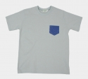 V1NTAGE POCKET T-SHIRT (GRAYISH BLUE)