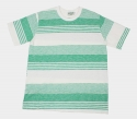 SLAVE STRIPE T-SHIRT (GREEN)