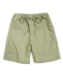 에이들 Grid 1/2 Linen Pants-Unisex