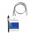 에이피오13(APO13) CHEST PACK_CARDHOLDER_WHITE/BLUE
