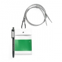 에이피오13(APO13) CHEST PACK_CARDHOLDER_WHITE/GREEN
