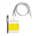 에이피오13(APO13) CHEST PACK_CARDHOLDER_WHITE/YELLOW