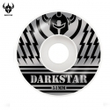 다크스타(DARKSTAR) [DARKSTAR] BLUNT SILVER/BLACK PRICE KNIGHT WHEELS 51