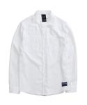BASIC CHINO LINEN WHITE SHIRT