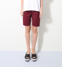 모한(MOHAN) [MOHAN] BASIC SHORT PANTS WINE 모한