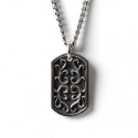 더 클로토(THE CLOTHO) 925 CLOUD VINE DOG TAG PENDANT