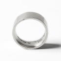 더 클로토(THE CLOTHO) 925 FLAT ROUNDING RING