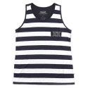 언티지 UMR 12 stripe slub pocket sleeveless_navy(남여공용)