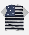 프리즘웍스 INVERSION FLAG TEE _ GRAY